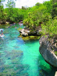 Xel-ha Tubing, Cancun, Mexico. Yay!! I've been here! Love it! Spanish River Church Mexico Mission 2005/06! :)
