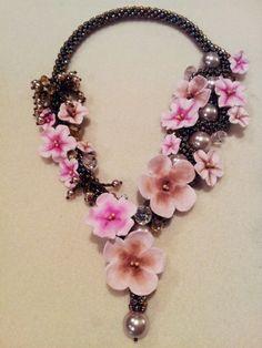 crochet cherry blossom flowers   Cherry Blossom