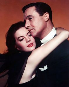 Natalie Wood and Gene Kelly