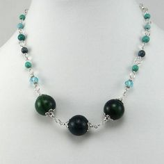cavossa designs - Go-Go Green Necklace, $32.00 (http://www.cavossadesigns.com/go-go-green-necklace/)