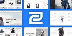 TheJ - Creative WordPress Portfolio Theme • Download theme ➝…