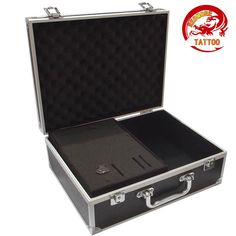38.00$  Buy now - http://alipvq.shopchina.info/1/go.php?t=32784055519 - Large Aluminum Tattoo Kit Carrying Case Tattoo Carrying Tour Convention - Black  #SHOPPING