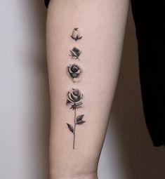 rose tattoo ideas © ANBU TATTOO STUDIO | Toronto