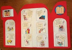 Bible Fun For Kids: Moses and the 10 Commandments Bible Story Crafts, Bible School Crafts, Bible Crafts For Kids, Preschool Bible, Bible Activities, Kids Bible, Children's Bible, Bible Stories, Bible Games
