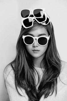 Jessica Jung in Blanc & Eclare Sunglasses Ad