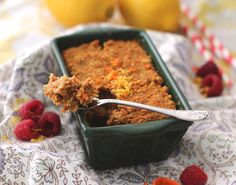 Healthy Carrot Cake Baked Quinoa (high protein!)