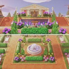 Design Museum, Museum Exhibition Design, Animal Crossing Game, Entrance Design, Island Design, New Leaf, Park, Garden Entrance, Animals
