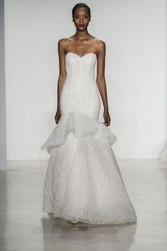Mermaid-Hochzeitskleid: Schulterfrei