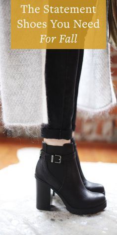 The Statement Shoes You Need For Fall   eBay