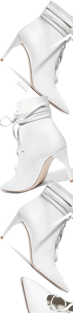 White Lace, Lace Up, Shoe Boots, Shoes Sandals, Shades Of White, Designer Boots, Color Pop, Colour, White Fashion