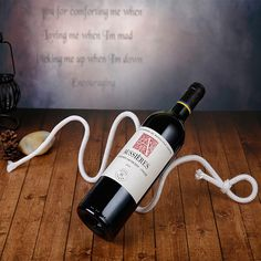 Magical Red #Wine #Rack Snake Dangling #Rope #Wine Rack Chain Wine Holder - #Kitchen #Accessories