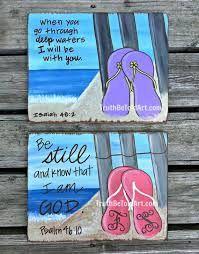 e3b8d3a30014cc Image result for flip flop canvas paintings Painted Canvas Bags