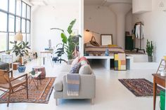 celine - onehundredacrewood: Brooklyn loft // Airbnb