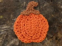 Ravelry: Pumpkin Applique pattern by Amy Lynn Yarbrough