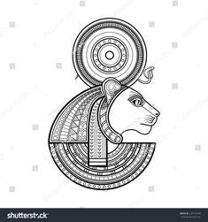 Resultado de imagen de sekhmet tattoo