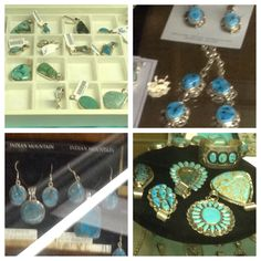 *TURQUOISE - DECEMBER BIRTHSTONE!* Art Mart Gifts has an absolutely HUGE selection of turquoise jewelry! This line includes pendants, earrings, jewelry sets, necklaces, bracelets, rings, and pins! All pieces are handcrafted with .925 sterling silver and real semi-precious stones! #Navajo #NativeAmerican #handcrafted #handmade #turquoise #sterlingsilver #genuine #stones #artisans #MadeInUSA #jewelry #birthstones #DecemberBirthstone