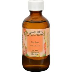 Nature's Alchemy Essential Oil - 100 Percent Pure - Tea Tree - 4 Fl Oz