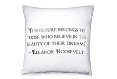 Community Post: 26 Pillows That Might Inspire A Better You