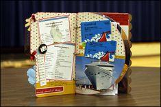 cruise scrapbooking ideas, carnivals, cruises, carniv cruis, mini albums, scrapbook idea, cruis scrapbook, cruis layout, cruise vacation
