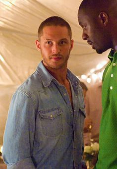handsome bob/tom hardy (with bonus mumbles/idris elba!)