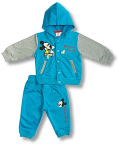 Tepláková súprava Disney- Mickey Mouse  http://www.milinko-oblecenie.sk/teplakovy-program-pre-babatka/strana-3/ #oblecenieprebabatka #kojeneckeoblecenie