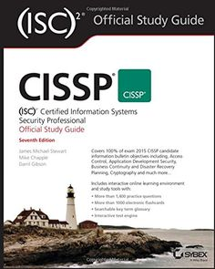 "CISSP (ISC)2 Certified Information Systems Security Professional Official S- 1119042712 - CISSP (ISC)2 Certified Information Systems Security Professional Official Study Guide by James M. Stewart [caption id="""" align=""alignleft"" width=""200...  #Computers&Technology #JamesM.Stewart"
