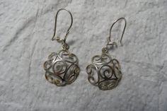 925 Silver Earrings by ArtInEightFingers on Etsy, $62.00