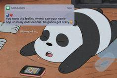 Cute Panda Wallpaper, Cartoon Wallpaper Iphone, Bear Wallpaper, Aesthetic Iphone Wallpaper, We Bare Bears Wallpapers, Panda Wallpapers, Cute Cartoon Wallpapers, Ice Bear We Bare Bears, We Bear