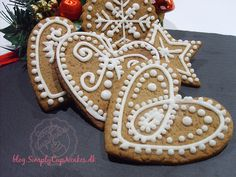 Swedish peppercakes. Or gingerbread in english.