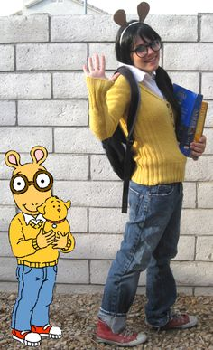 DIY Arthur Costume Inspiration #AETN #BeMore