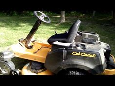 Cub Cadet Riding Lawn Mowers - My Inspired Media
