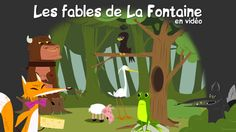 Videos of Les fables de La Fontaine, excellent animations Ap French, Core French, French Stuff, French Teaching Resources, Teaching French, French Songs, French Movies, How To Speak French, Learn French