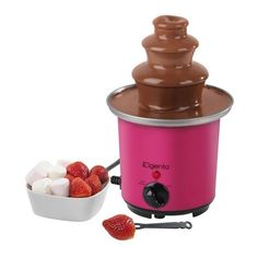 Elgento Mini Chocolate Fountain (€30) ❤ liked on Polyvore featuring food, home, food and drink, extra, misc and filler
