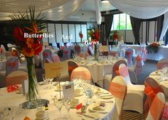 Tropical full venue styling