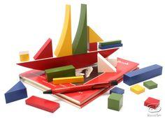 Bauhaus Bauspiel - Naef Toy