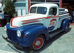 vintag delivery pepsi truck - Google Search