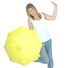 Sunshine Yellow Children's Umbrella