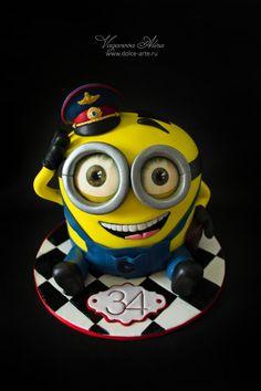 minion policeman - Cake by Alina Vaganova