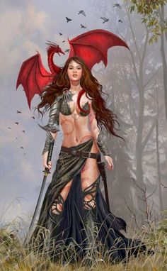 The dragon witch.