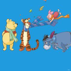Winnie the Pooh, Pooh Bear, Piglet, Tigger, Eeyore