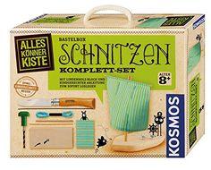 Kosmos AllesKönnerKiste 604257 - Schnitzen Komplett-Set Geschenk Idee Kinder
