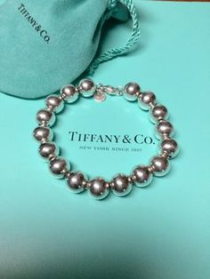 Tiffany & Co. 10mm beaded bracelet. Get the lowest price on Tiffany & Co. 10mm beaded bracelet and other fabulous designer clothing and accessories! Shop Tradesy now