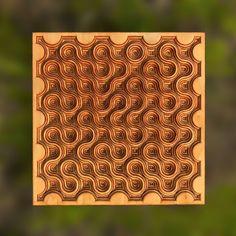Bonitum plywood maze.