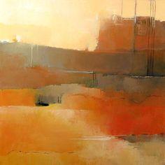 Pintura abstracta de Irma Cerese: