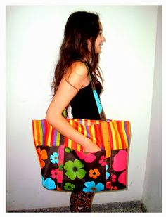 PiluKa-Retales de Colores: TUTORIAL BOLSA PLAYA