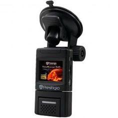 Kamera za kola RoadRunner 540 Prestigio Uistinu mali uređaj sa 1,5 - inčnim TFT LCD ekranom i rotirajućom sočivom ( 180 stepeni vertikalno i horizontalno ) otvara brojne mogućnosti upotrebe. Snimajte oštrije slike u uslovima slabog osvetljenja pomoću poboljšanog načina rada Night Vision ( Noćno snimanje ).