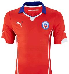 Nova camisa do Chile para a Copa de 2014