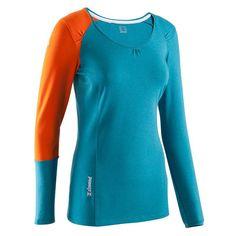 19,99€ - Klettern_KletternBergsteigen - Langes Kletter T-Shirt Damen - SIMOND