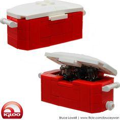 LEGO Igloo Cooler