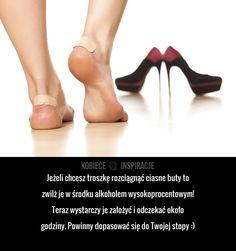Jak rozciągnąć ciasne buty?